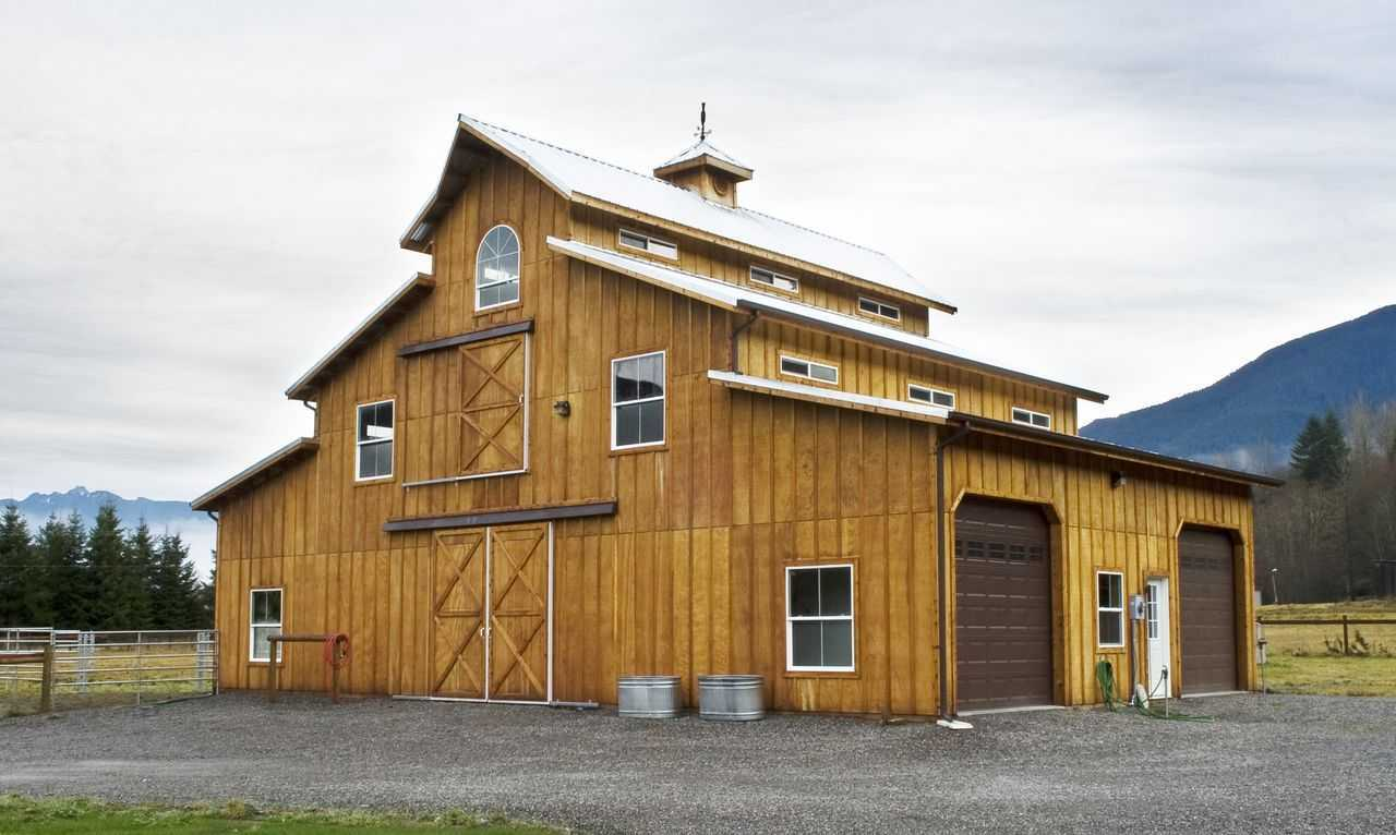 Gage Residence Pole Barn Builder Specializing In Post