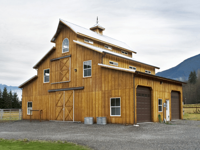 Barns pole barn builder specializing in post frame buildings for Barns garages