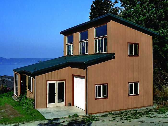 a spane buildings post frame home in lynden wa