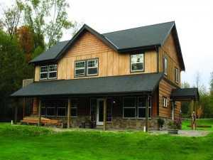A Spane Buildings post frame home in Snohomish WA