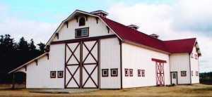 Barn built by Spane Buildings in Arlington WA