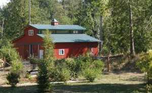 Barn built by Spane Buildings in Bonney Lake WA