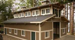 Barn built by Spane Buildings in Everett WA