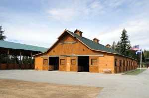 Barn built by Spane Buildings in Marysville WA