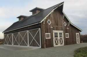 Barn built by Spane Buildings in Mt. Vernon WA