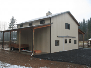 Barn built by Spane Buildings in Renton WA