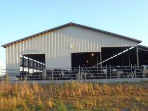 Barn built by Spane Buildings in Skagit County