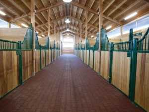 More stalls built by Spane Buildings in Monroe WA