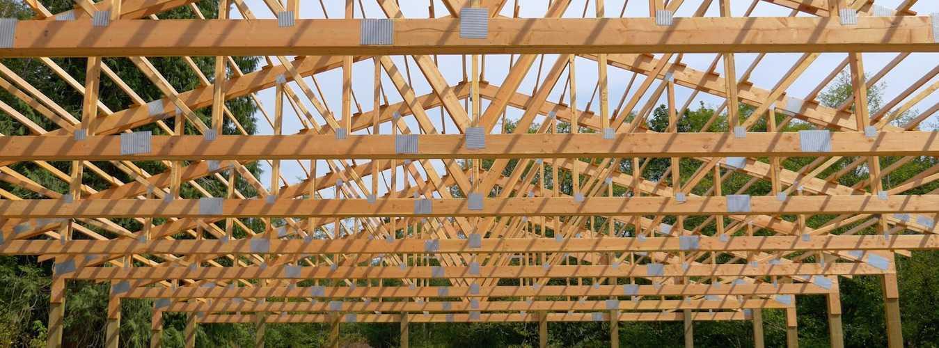 spane-buildings-post-frame-arena-in-progress | Pole Barn Builder ...