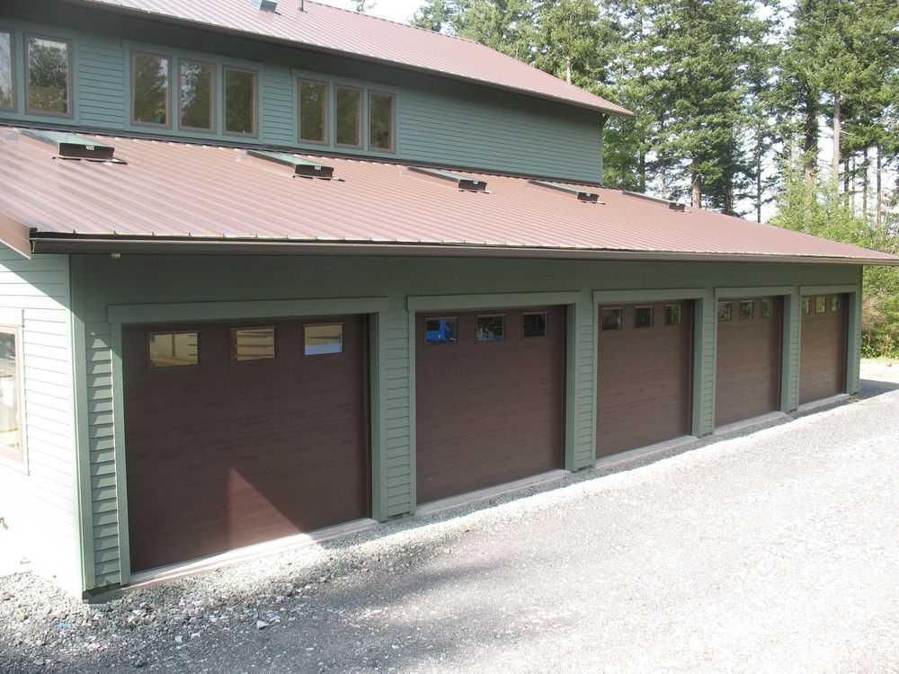 Hobby Garage spane buildings post frame hobby garage solid shop doors entrance