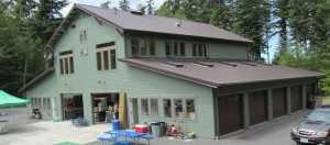 The Wulff residence built by Spane Buildings on Orcas Island WA