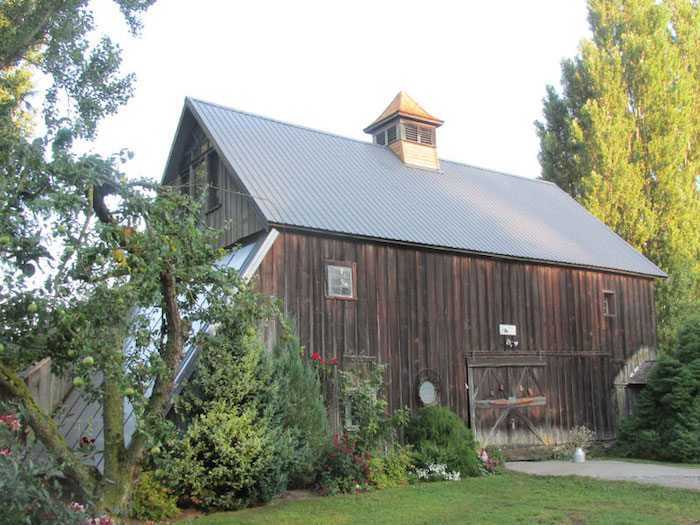 A barn renovation by Spane Buildings in Skagit County WA