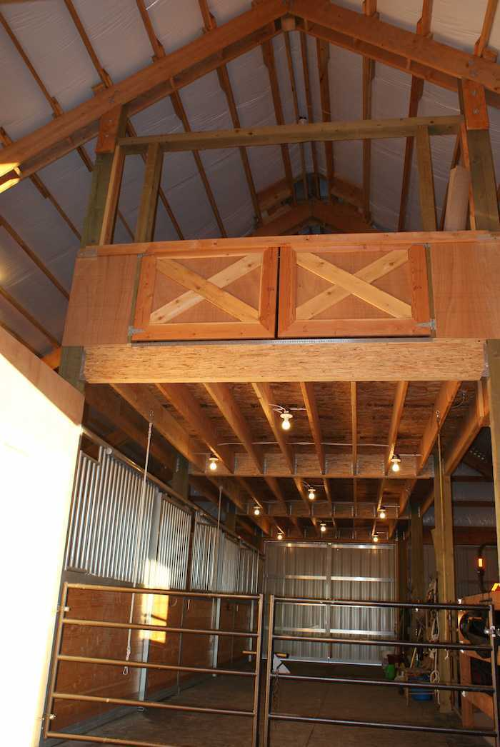 Barns pole barn builder specializing in post frame buildings for Loft barn