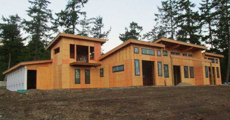 Homes pole barn builder specializing in post frame buildings for Washington home builders
