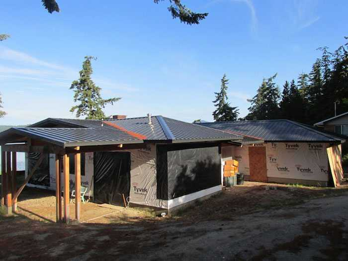 A seam metal reroof by Spane Buildings in Puyallup WA