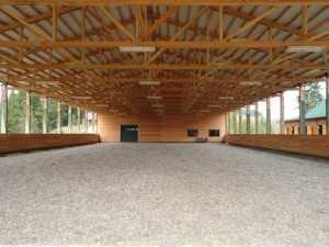 An arena and horse barn built by Spane Buildings in Maple Valley WA