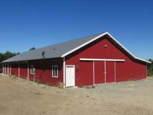 Barn built by Spane Buildings in Carnation WA