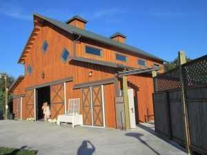 Barn built by Spane Buildings in Oak Harbor WA
