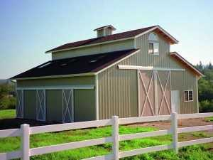 Barn built by Spane Buildings in Redmond WA