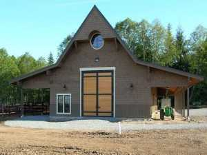 Barn built by Spane Buildings in Snohomish County WA