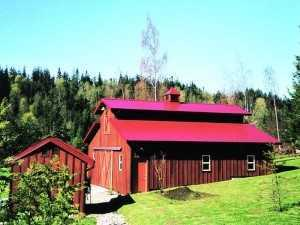 Barn built by Spane Buildings in Snohomish WA