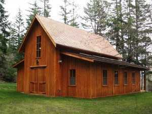 Barn built by Spane Buildings in Whatcom County WA