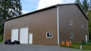 Cross Fit Gym built by Spane Buildings in Snohomish WA