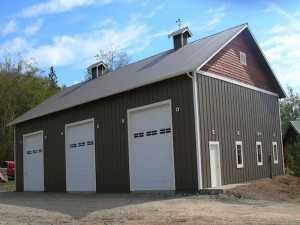 Garage built by Spane Buildings in Arlington WA