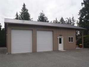 Garage built by Spane Buildings in Bow WA