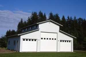 Garage built by Spane Buildings in Deception Pass WA