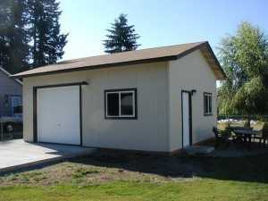 Garage built by Spane Buildings in Glenhaven WA