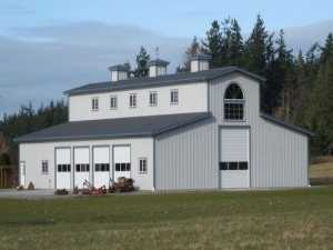 Garage built by Spane Buildings in Lake Stevens WA