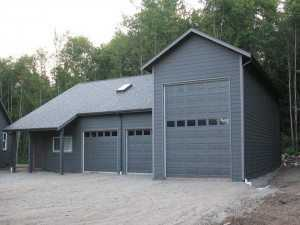 Garage built by Spane Buildings in Lynnwood WA