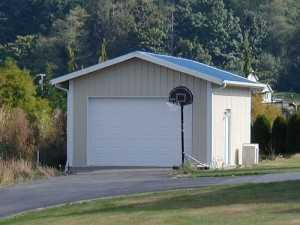 Garage built by Spane Buildings in Sedro-Woolley WA