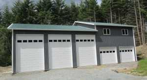 Garage built by Spane Buildings in Tenino WA