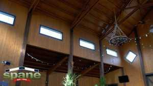 Interior of Carleton Farms barn by Spane Buildings in Lake Stevens WA