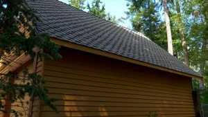 Spane Buildings garage reroof in Camano Island WA front view