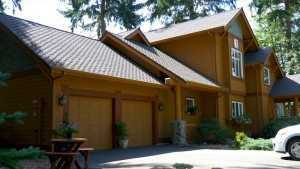 Spane Buildings reroof in Camano Island WA front view