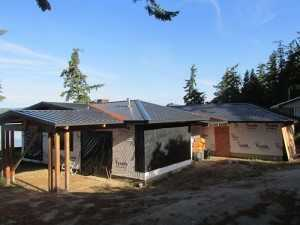 A recent metal reroof by Spane Buildings in Puyallup WA