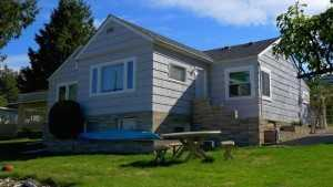 Front view reroof by Spane Buildings on Camano Island WA