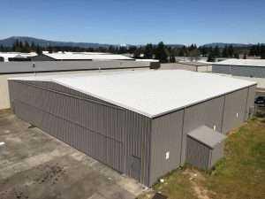 commercial building reroof